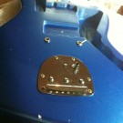 Jazzmaster Phase Two: pickguard wiring, bridge cups, tremolo install